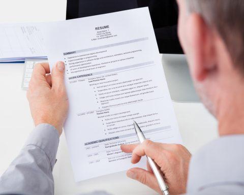 resume verification