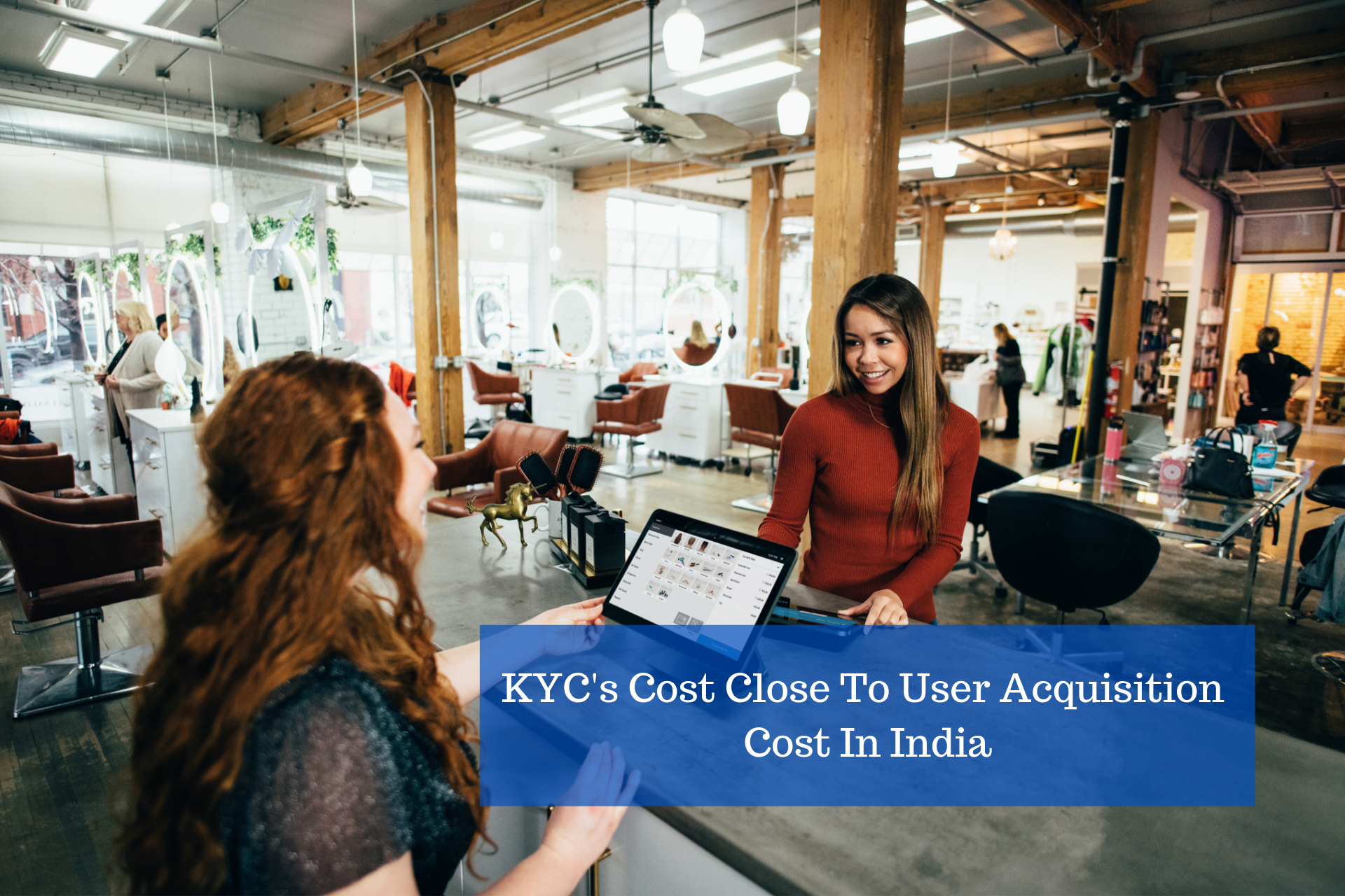 Knowing your customer(KYC) by Blake Wisz on Unsplash