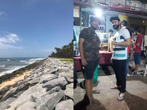 Team Springworks had fun exploring Manipal beaches and the street food scene after a gruelling internship process at MIT, Manipal