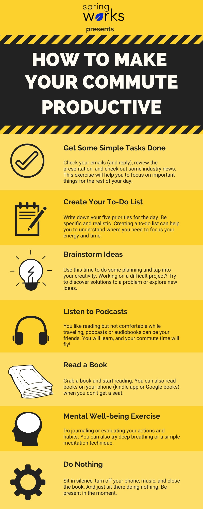 how to make your commute productive
