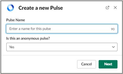 create a pulse