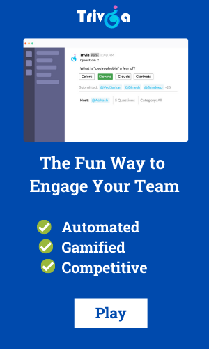 fun way to engage your team