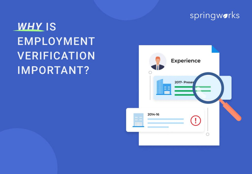 The Importance of Employment Verification
