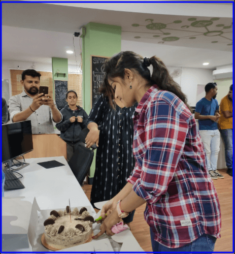 celebrates employees' birthdays