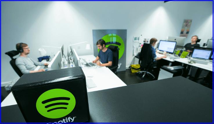 Spotify wfh option