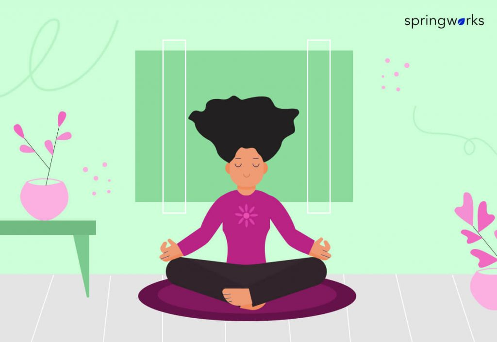Meditation improves Employees' Physical and Mental Well-being