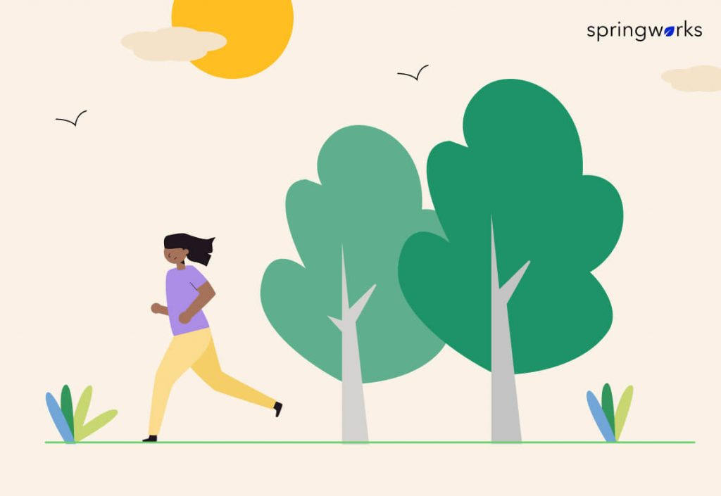Running improves Employees' Physical and Mental Well-being