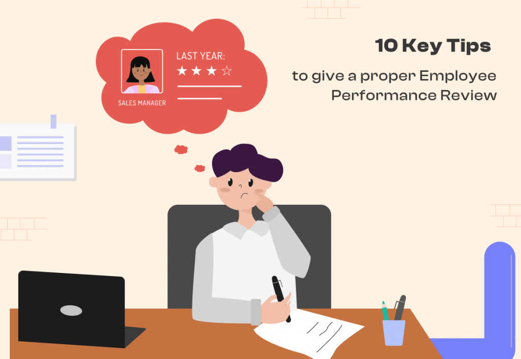 Tips to Give a Proper Employee Performance Review