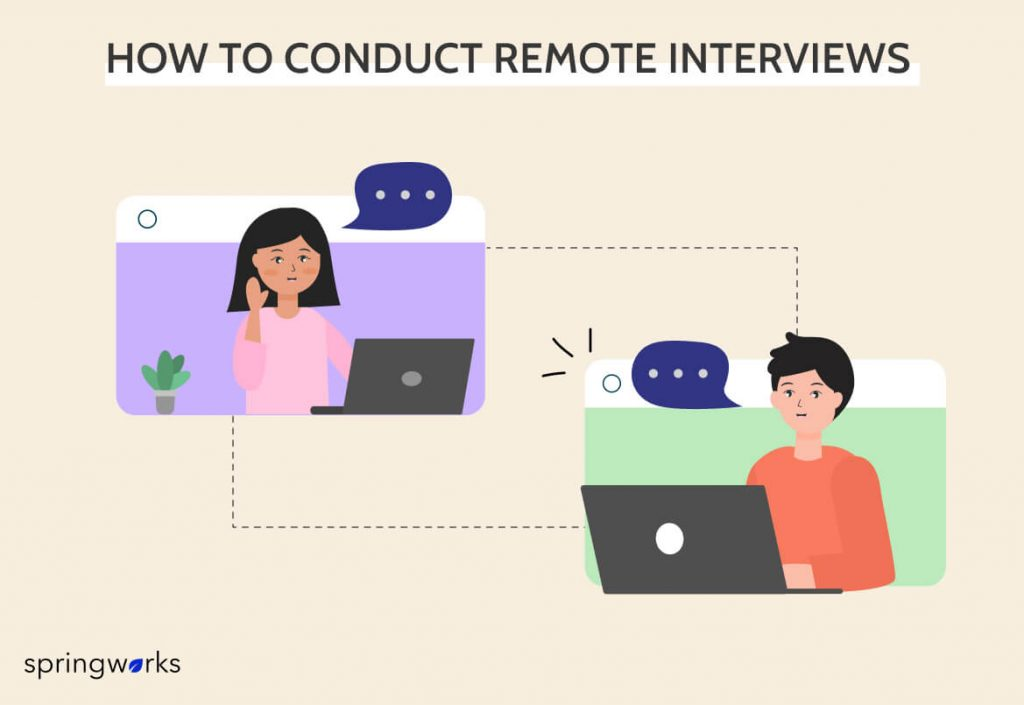 How to Conduct Remote Interviews