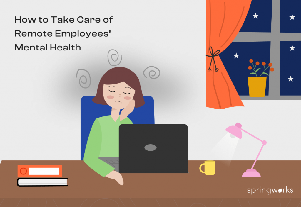 Remote Employees' Mental Health