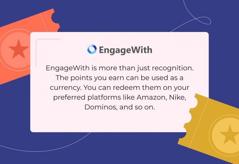 redeem EngageWith points